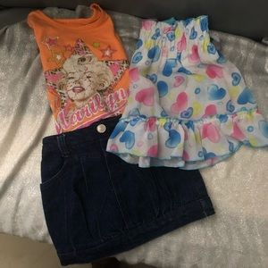 $12 Girls Bundle sizes 3T listed in individual